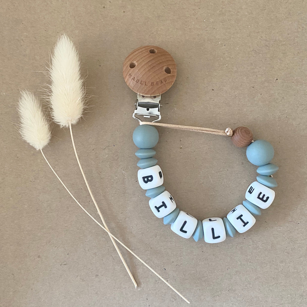 Quinn Personalised Soother Chain