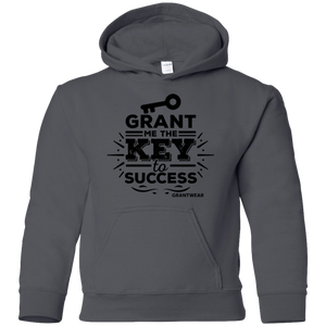 GRANTWEAR YOUTH GRANT ME THE KEY TO SUCCESS HOODIE