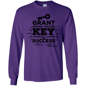 GRANTWEAR YOUTH GRANT ME THE KEY TO SUCCESS LONG SLEEVE SHIRT