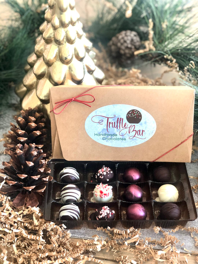 12 Piece Assorted Holiday Gift Box