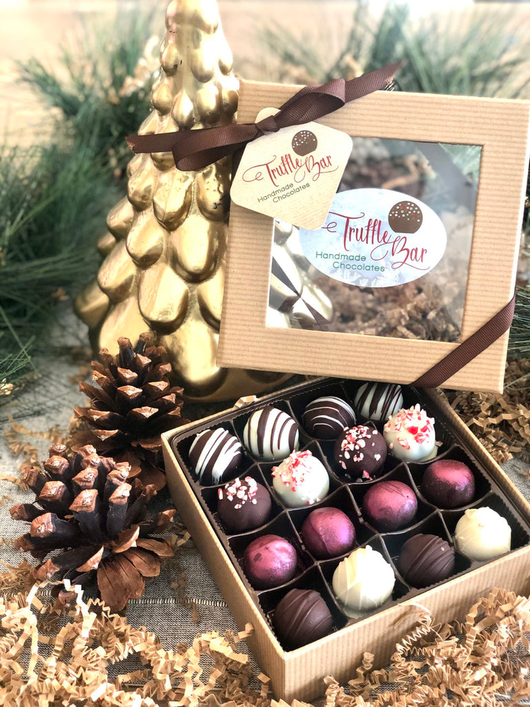 16 Piece Assorted Holiday Gift Box
