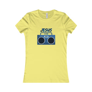 T-Shirt Women's Cotton - JESUS IS MY JAM