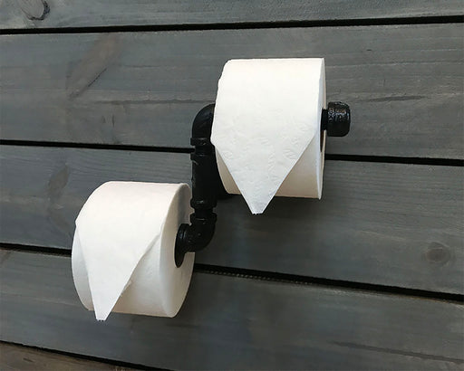 Industrial Toilet Paper Holder - Never Run out of TP Again!