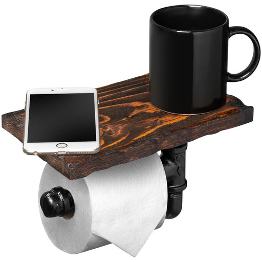 Rustic Single Roll Toilet Paper Holder