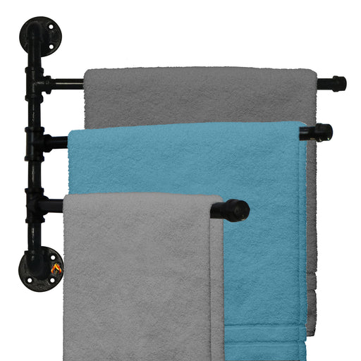 "3-Bar Swivel 20"" Towel Rack"