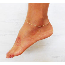 Simple Single Strand Anklet