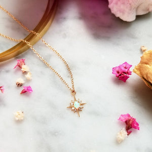 Muse Opal Necklace