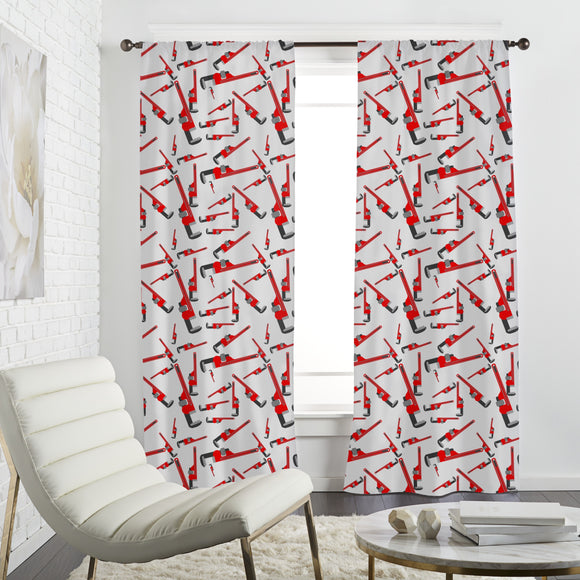 Pipe Wrenches Curtains