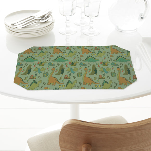 Dino World Rectangle Tablecloths