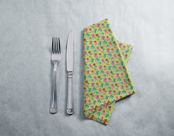Baby Clothes And Toys Napkins