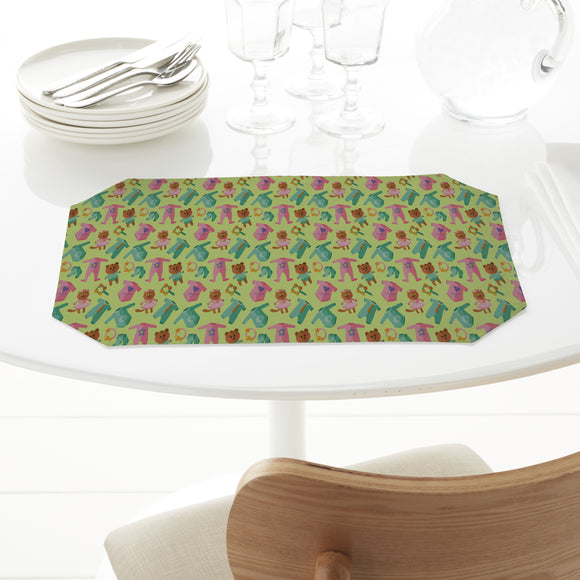 Baby Clothes And Toys Placemats