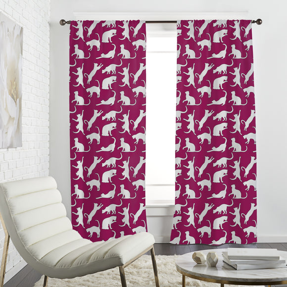 My Favourite Animal The Cat Curtains