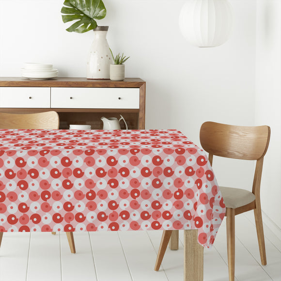Retro Comma Rectangle Tablecloths