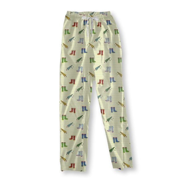 Raining Shoes Pajama Pants
