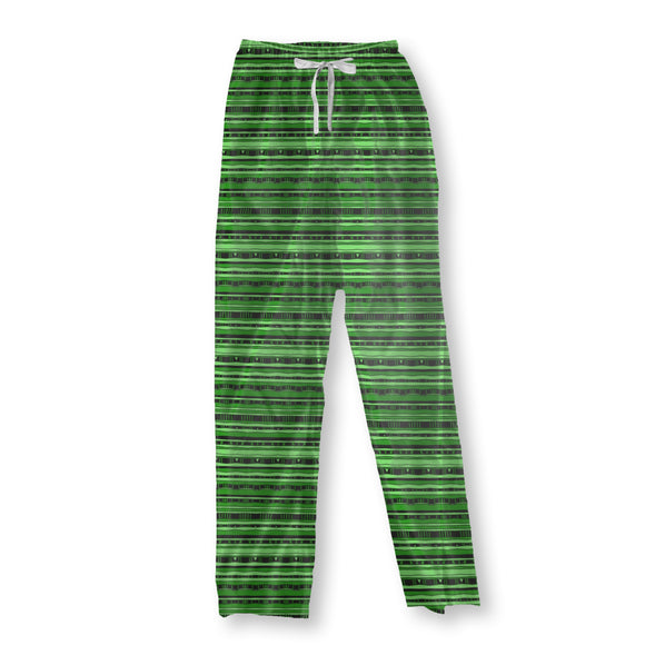 Connected Stripes Pajama Pants