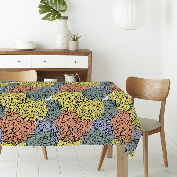 Sea Of Chrysanthemum Rectangle Tablecloths