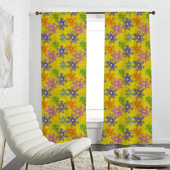 Flowers Of Spring Curtains