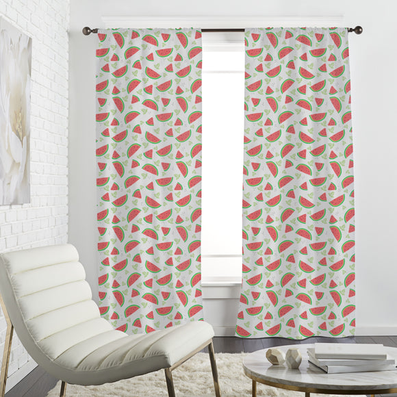 Watermelon And Mint Curtains