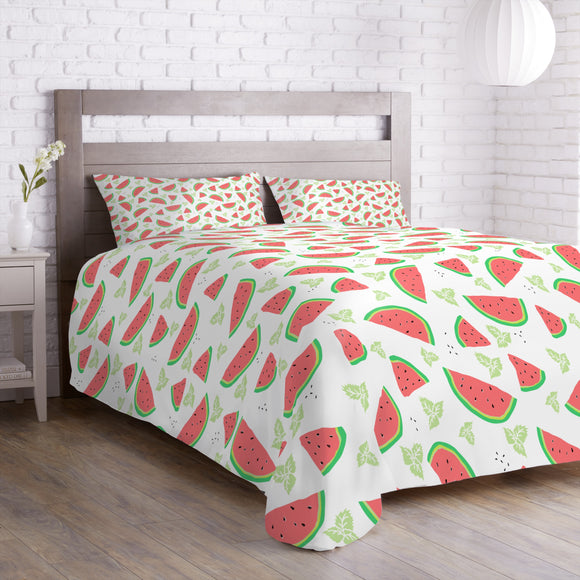 Watermelon And Mint Duvet