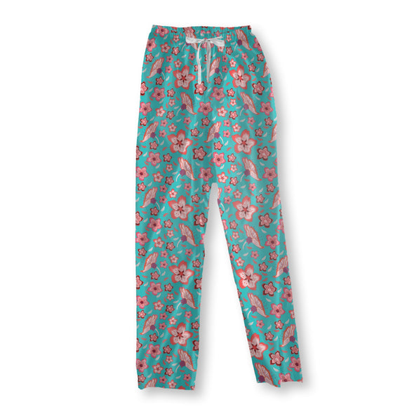 Exotic Flower Power Pajama Pants