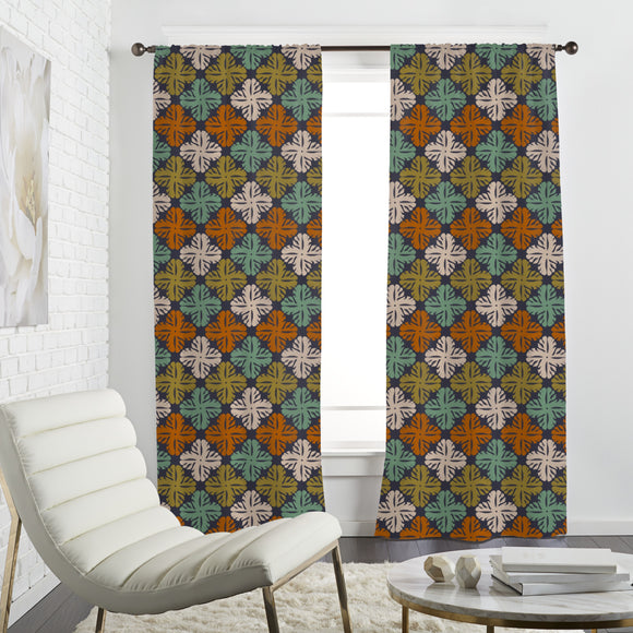 Flores Gouache Curtains