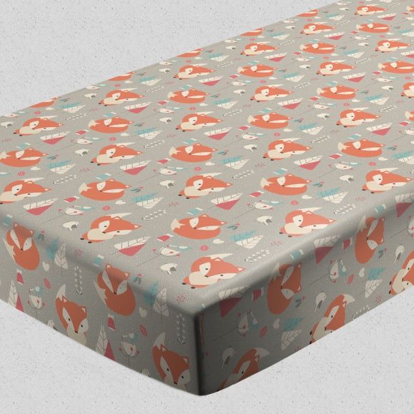 Baby Foxes Fitted Sheets