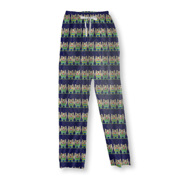 Owls On A Rope Pajama Pants