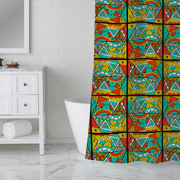The Dream Of The Butterfly Shower Curtain
