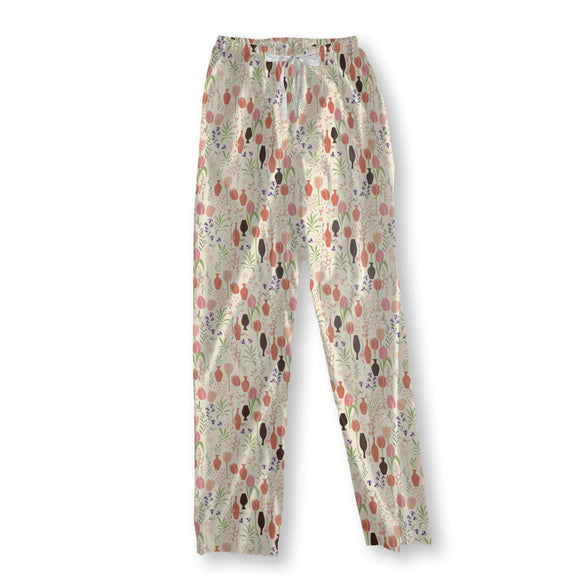 Tulips And Vases Pajama Pants