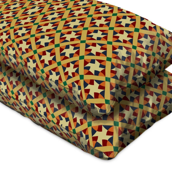 Contemporary Geometry Pillow Case