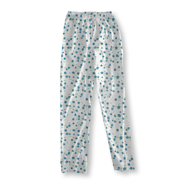 Flowers Swirl Pajama Pants