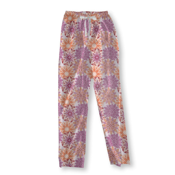 Flower Mandala Pajama Pants