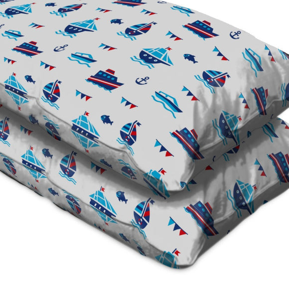 Nautical Fun Pillow Case