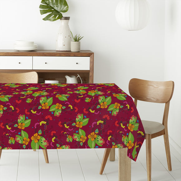 Tropical Flora Rectangle Tablecloths