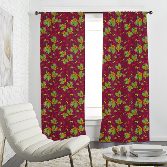 Tropical Flora Curtains