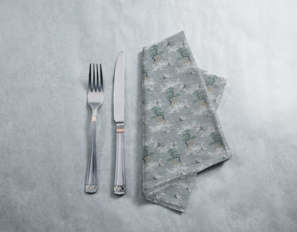 Cranes Over The Ocean Napkins
