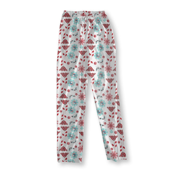 Cute Flowers Pajama Pants