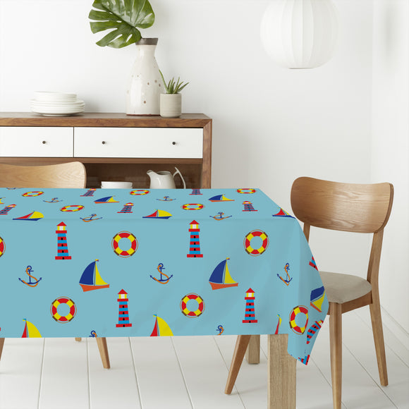 Seaside Rectangle Tablecloths
