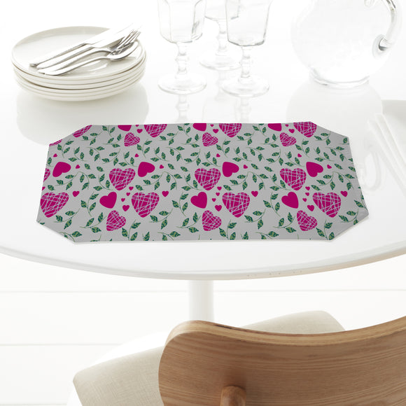 Hearts And Leaves Placemats