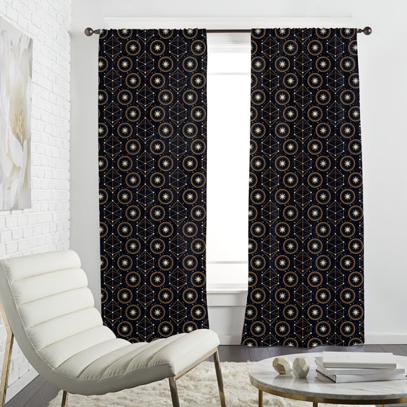 Magical Astrology Curtains