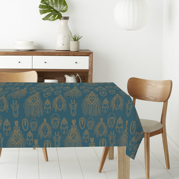 African Trophies Rectangle Tablecloths