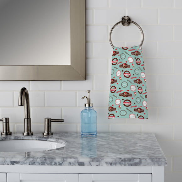 Yummy Mint Hand Towel