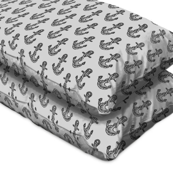 Anchor Tattoos Pillow Case