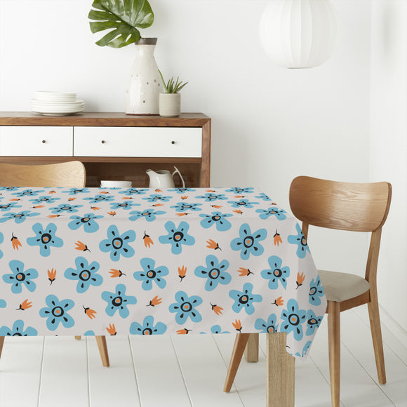Nice Flowers Rectangle Tablecloths