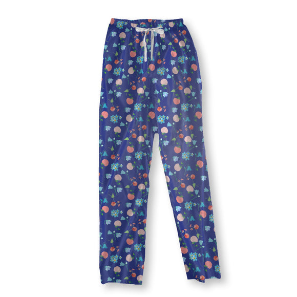Summer Meadow Impressions Pajama Pants