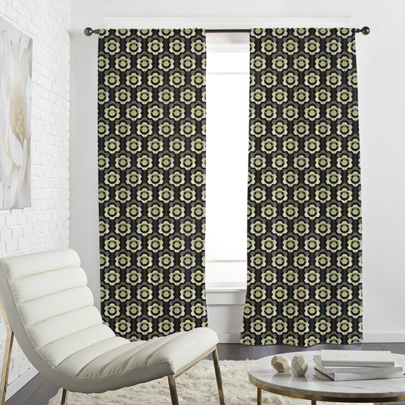 Floral Impression Curtains