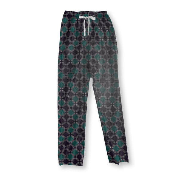 Checks and Circles Pajama Pants