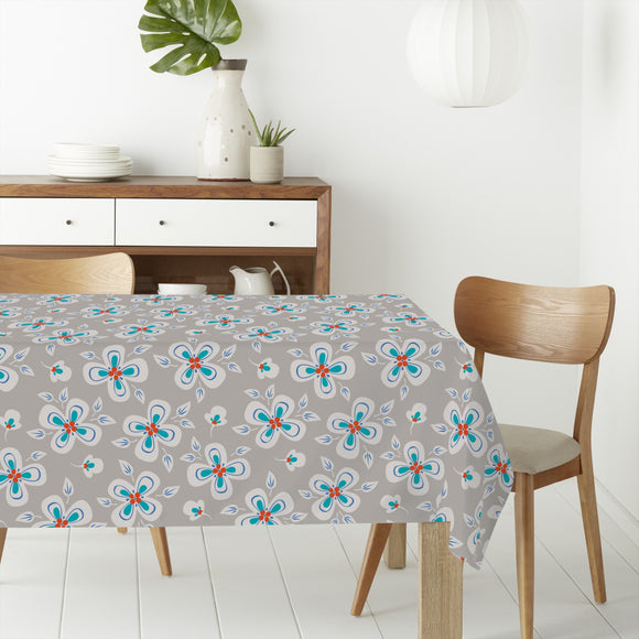 Flying Flowers Rectangle Tablecloths