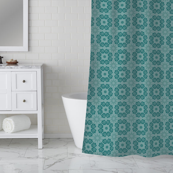 Tessilatet Blossoms Shower Curtain