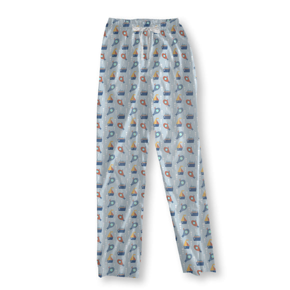 Ships and Submarines Pajama Pants